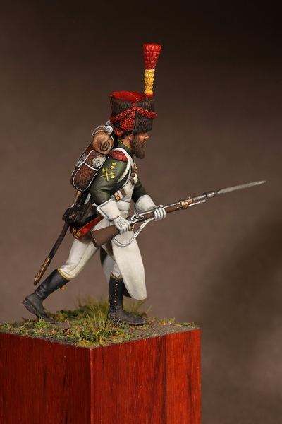 Figures: Sapper flanqueur grenadiers of the Guard 1812, photo #2
