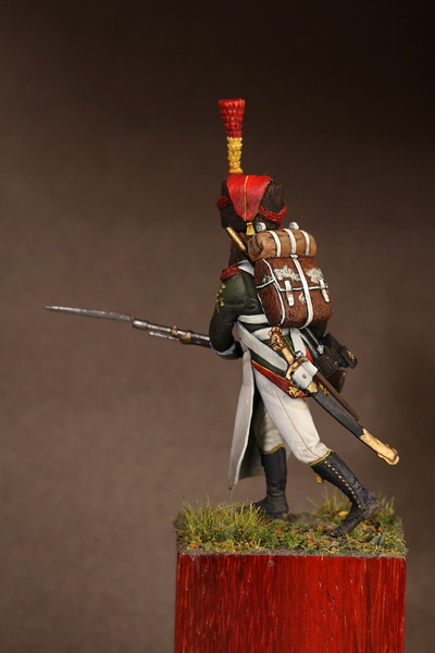 Figures: Sapper flanqueur grenadiers of the Guard 1812, photo #5
