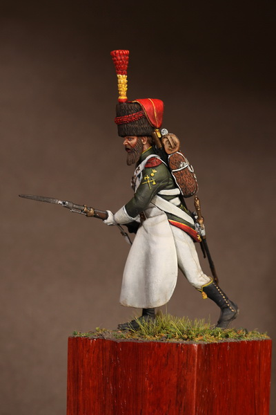 Figures: Sapper flanqueur grenadiers of the Guard 1812, photo #7