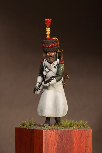 Figures: Sapper flanqueur grenadiers of the Guard 1812, photo #9