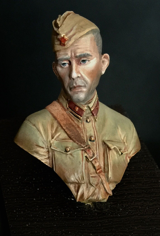 Figures: Second lieutenant, Red Army, 1941, photo #1