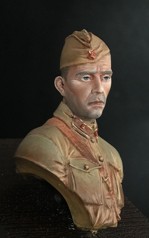 Figures: Second lieutenant, Red Army, 1941, photo #3