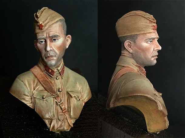Figures: Second lieutenant, Red Army, 1941