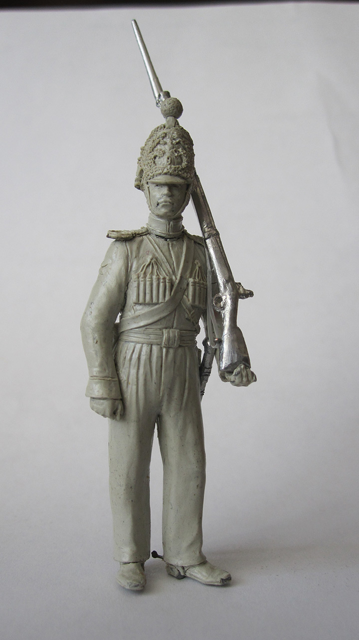 Sculpture: Nizhny Novgorod dragoon, 1842, photo #2