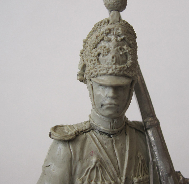 Sculpture: Nizhny Novgorod dragoon, 1842, photo #4