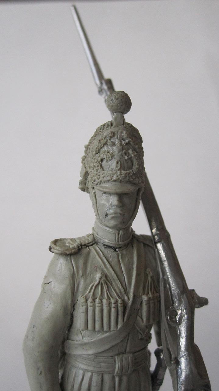 Sculpture: Nizhny Novgorod dragoon, 1842, photo #5