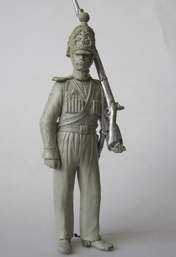 Sculpture: Nizhny Novgorod dragoon, 1842