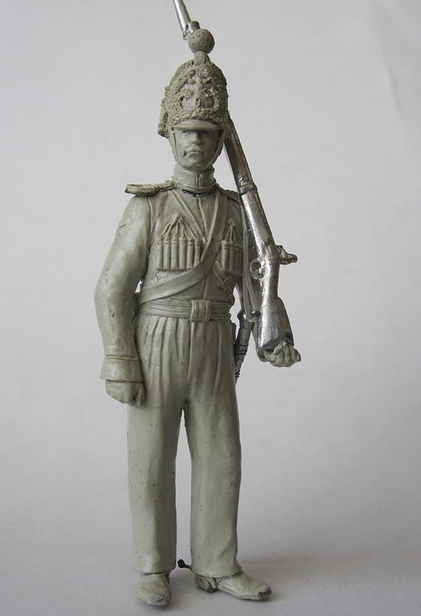 Sculpture: Nizhny Novgorod dragoon, 1842