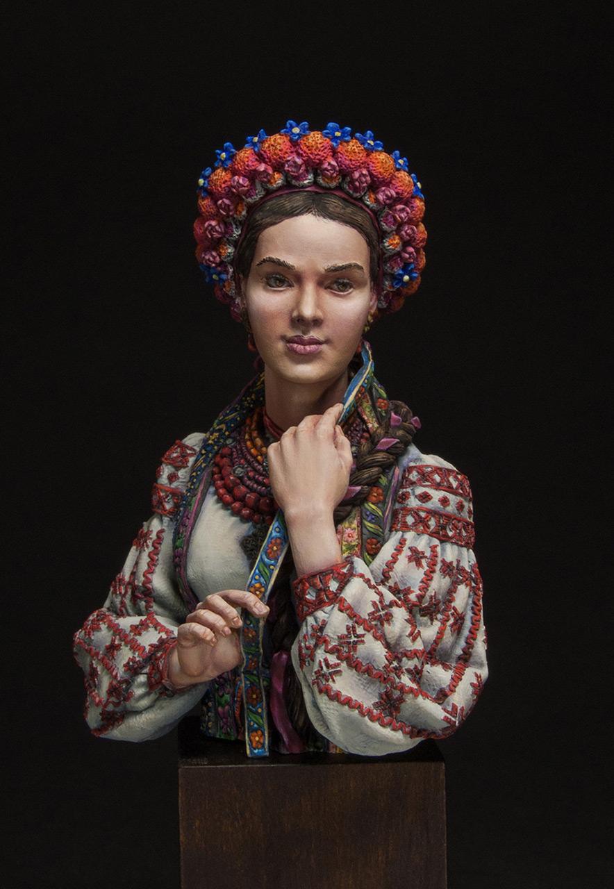 Figures: Marusya Churay, Ukrainian girl, photo #1