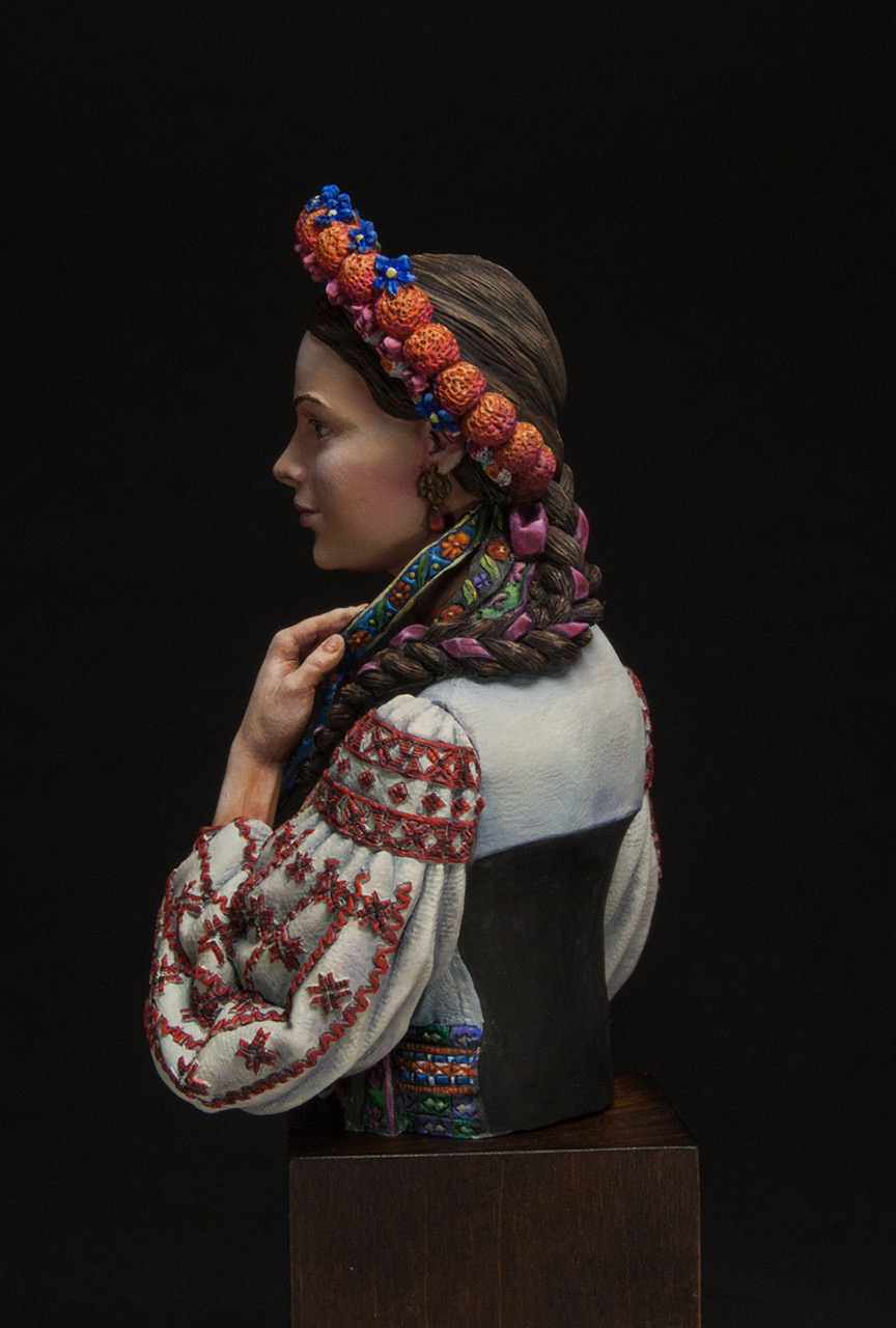 Figures: Marusya Churay, Ukrainian girl, photo #3