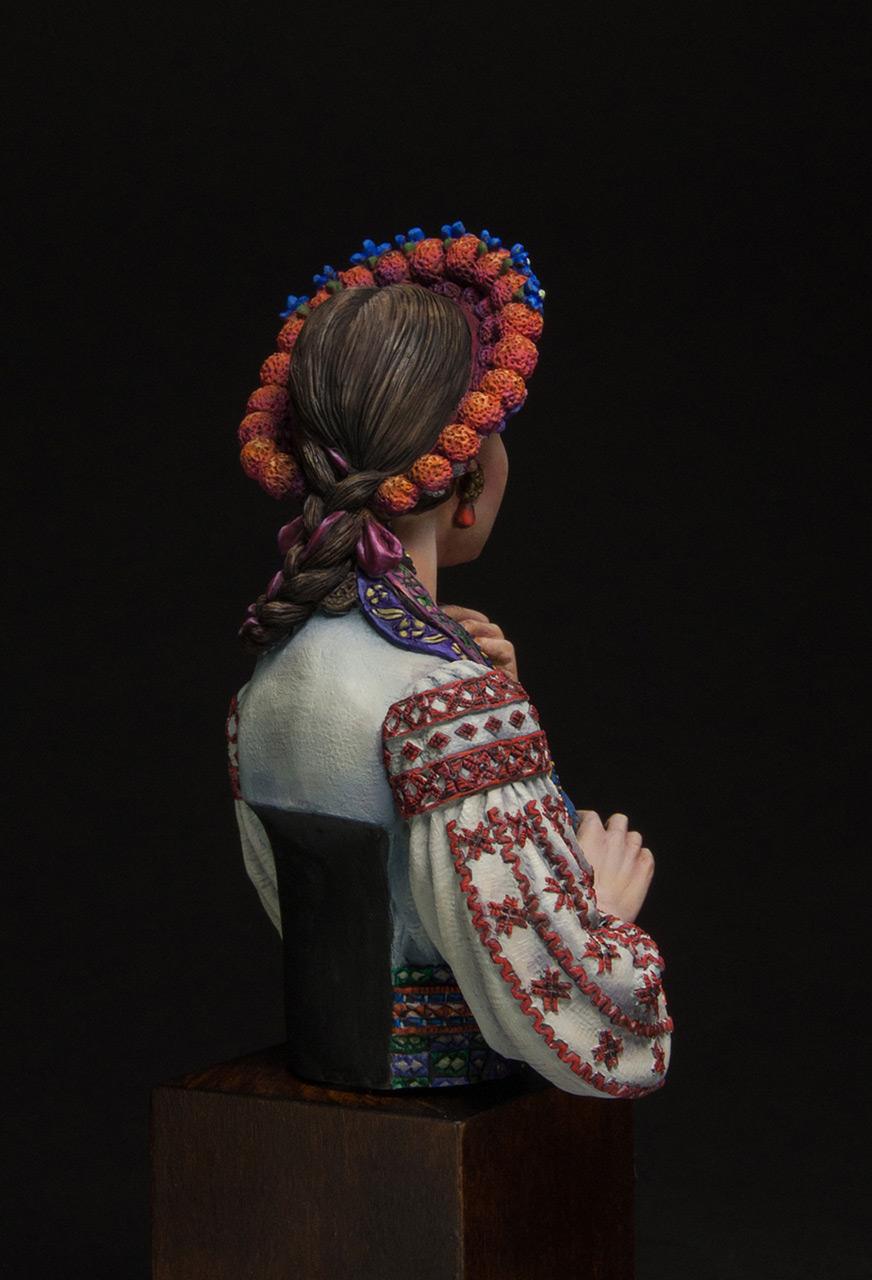 Figures: Marusya Churay, Ukrainian girl, photo #4