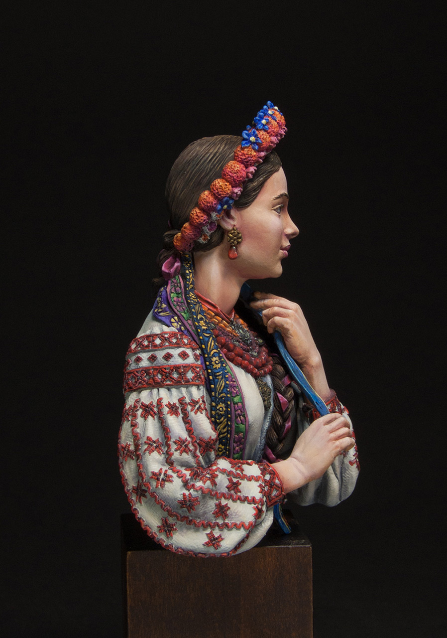 Figures: Marusya Churay, Ukrainian girl, photo #5