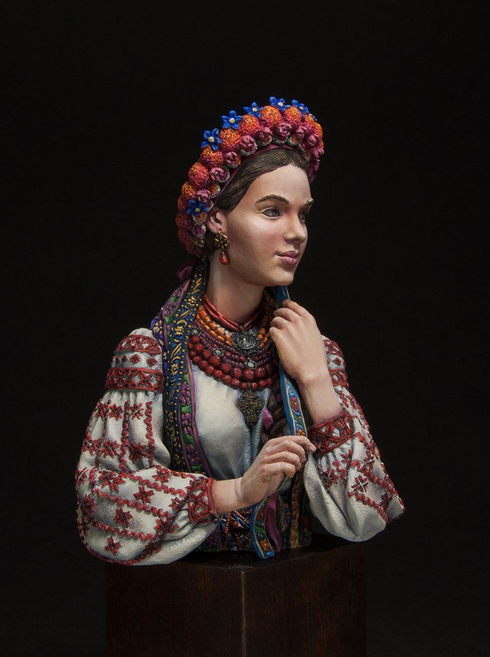 Figures: Marusya Churay, Ukrainian girl, photo #6