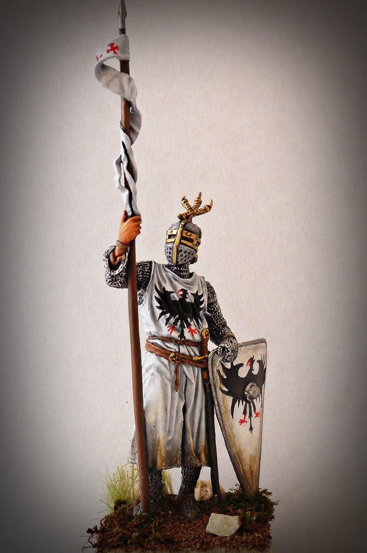 Figures: Western european knight, XII-XII c., photo #1