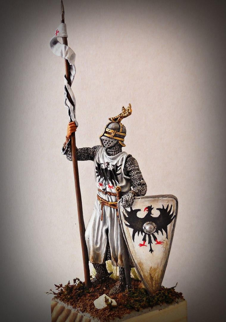 Figures: Western european knight, XII-XII c., photo #2