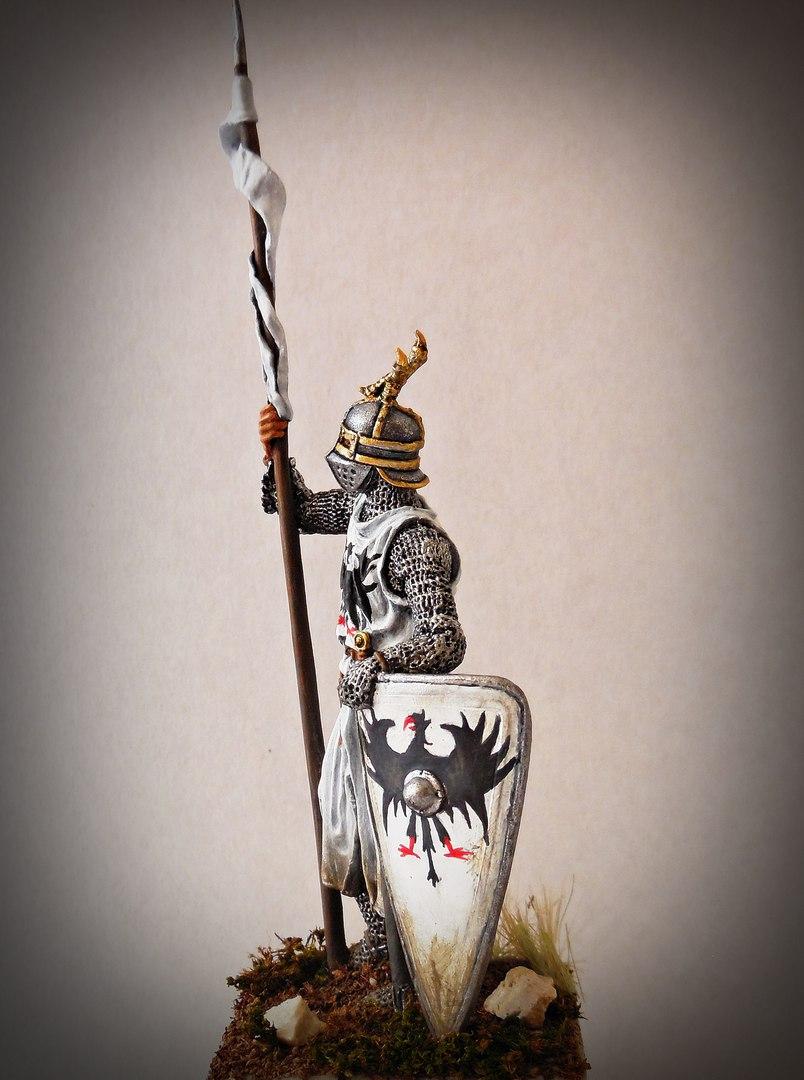 Figures: Western european knight, XII-XII c., photo #3
