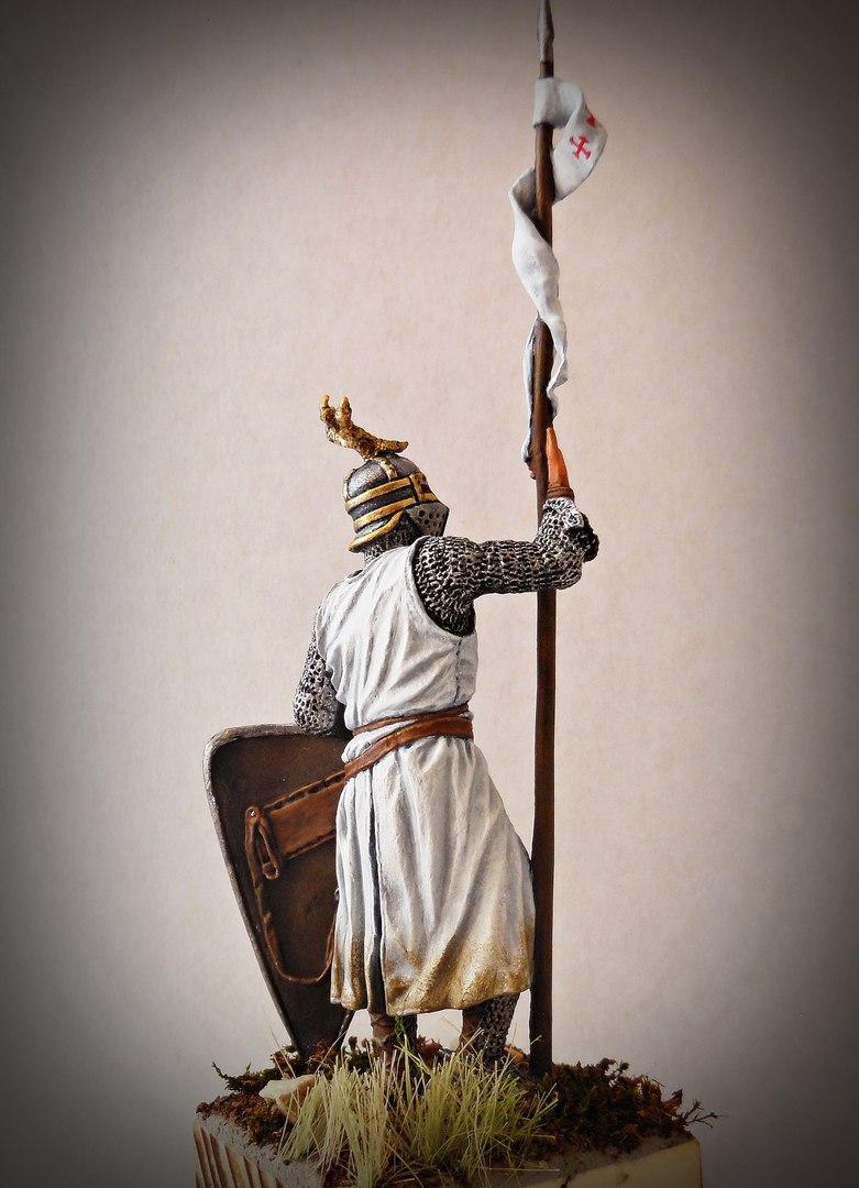 Figures: Western european knight, XII-XII c., photo #6