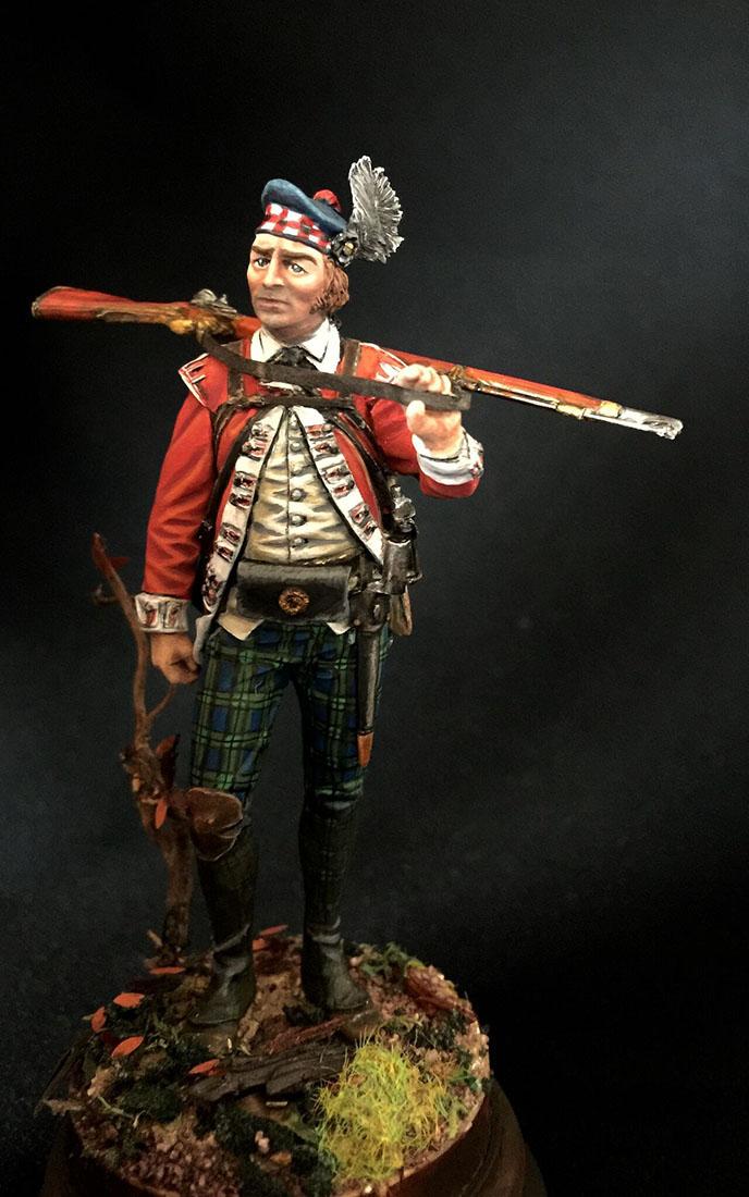 Figures: Grenadier 71st foot, Fraser's Highlanders, 1780, photo #1