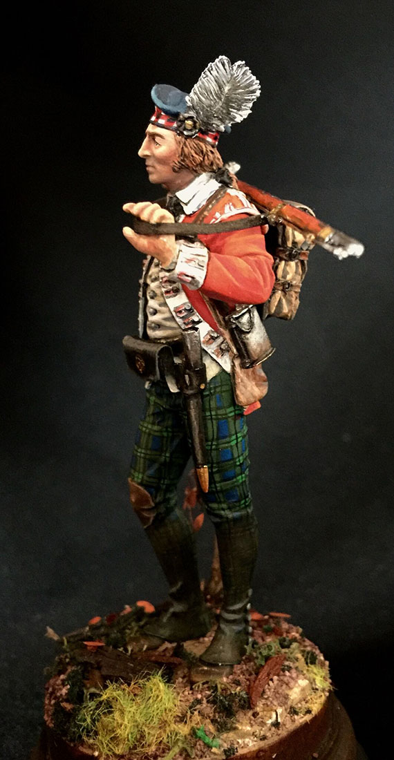 Figures: Grenadier 71st foot, Fraser's Highlanders, 1780, photo #2
