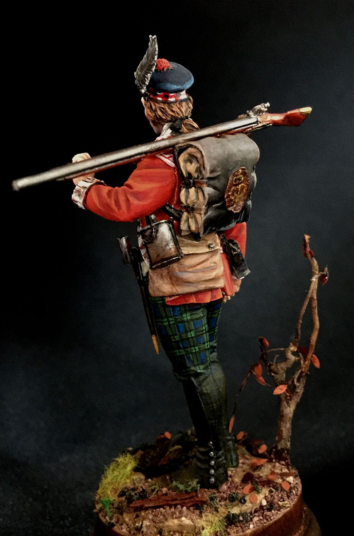 Figures: Grenadier 71st foot, Fraser's Highlanders, 1780, photo #3