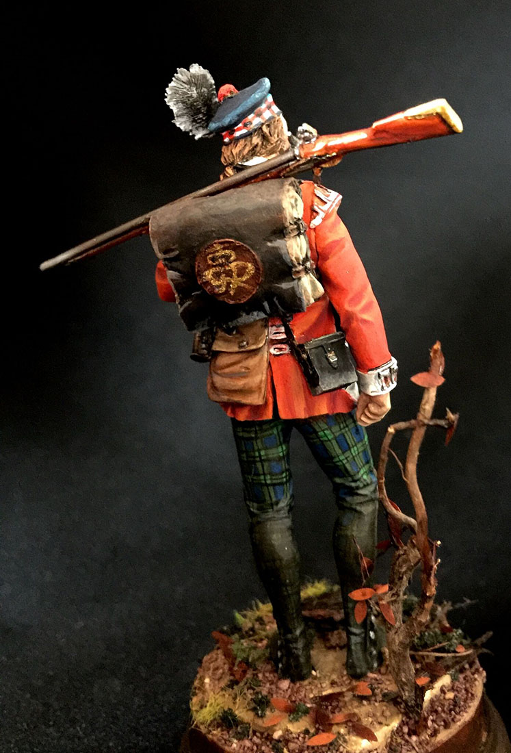 Figures: Grenadier 71st foot, Fraser's Highlanders, 1780, photo #4