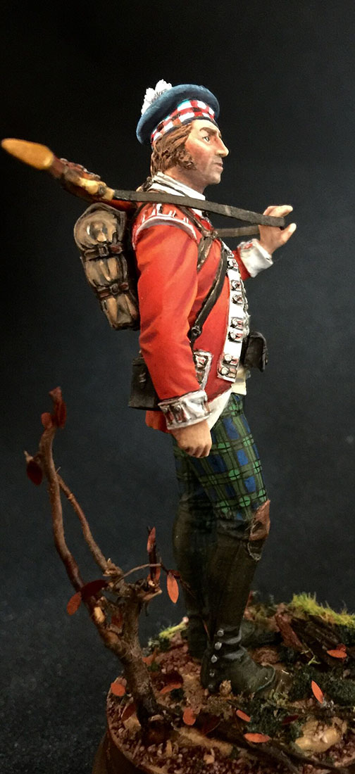 Figures: Grenadier 71st foot, Fraser's Highlanders, 1780, photo #5