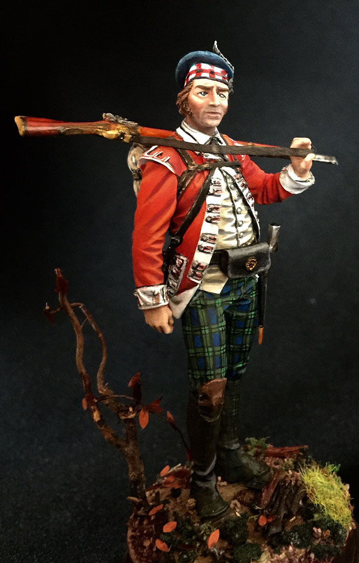 Figures: Grenadier 71st foot, Fraser's Highlanders, 1780, photo #6