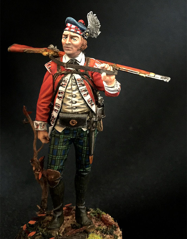 Figures: Grenadier 71st foot, Fraser's Highlanders, 1780