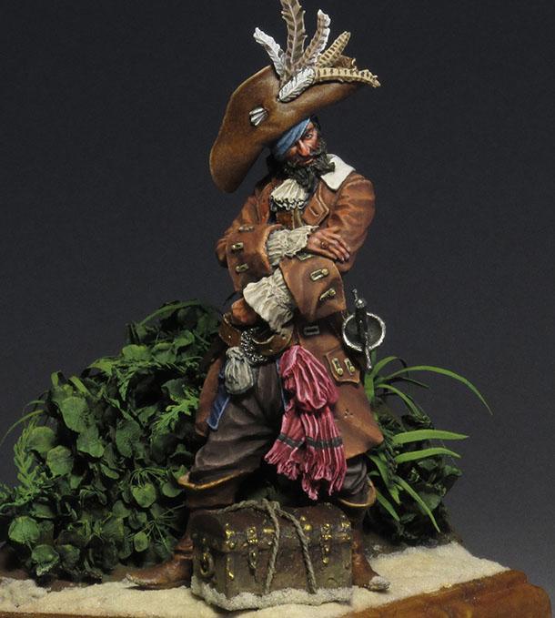 Figures: Captain Teague