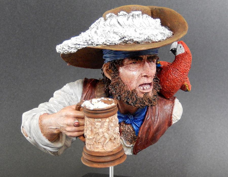 Figures: Drunk pirate, photo #1