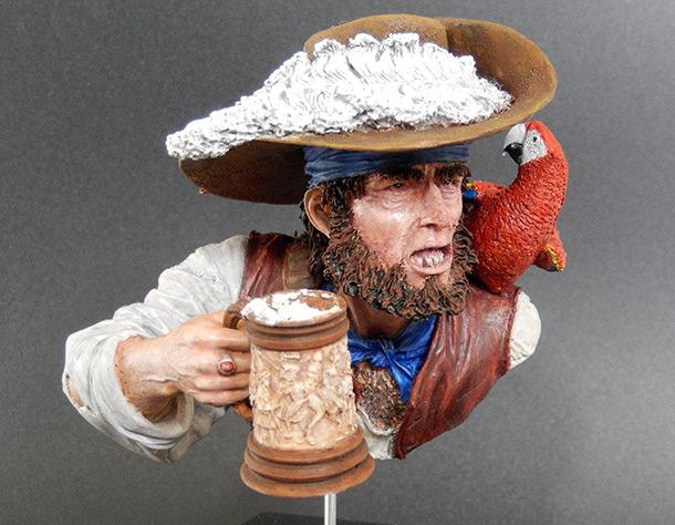 Figures: Drunk pirate