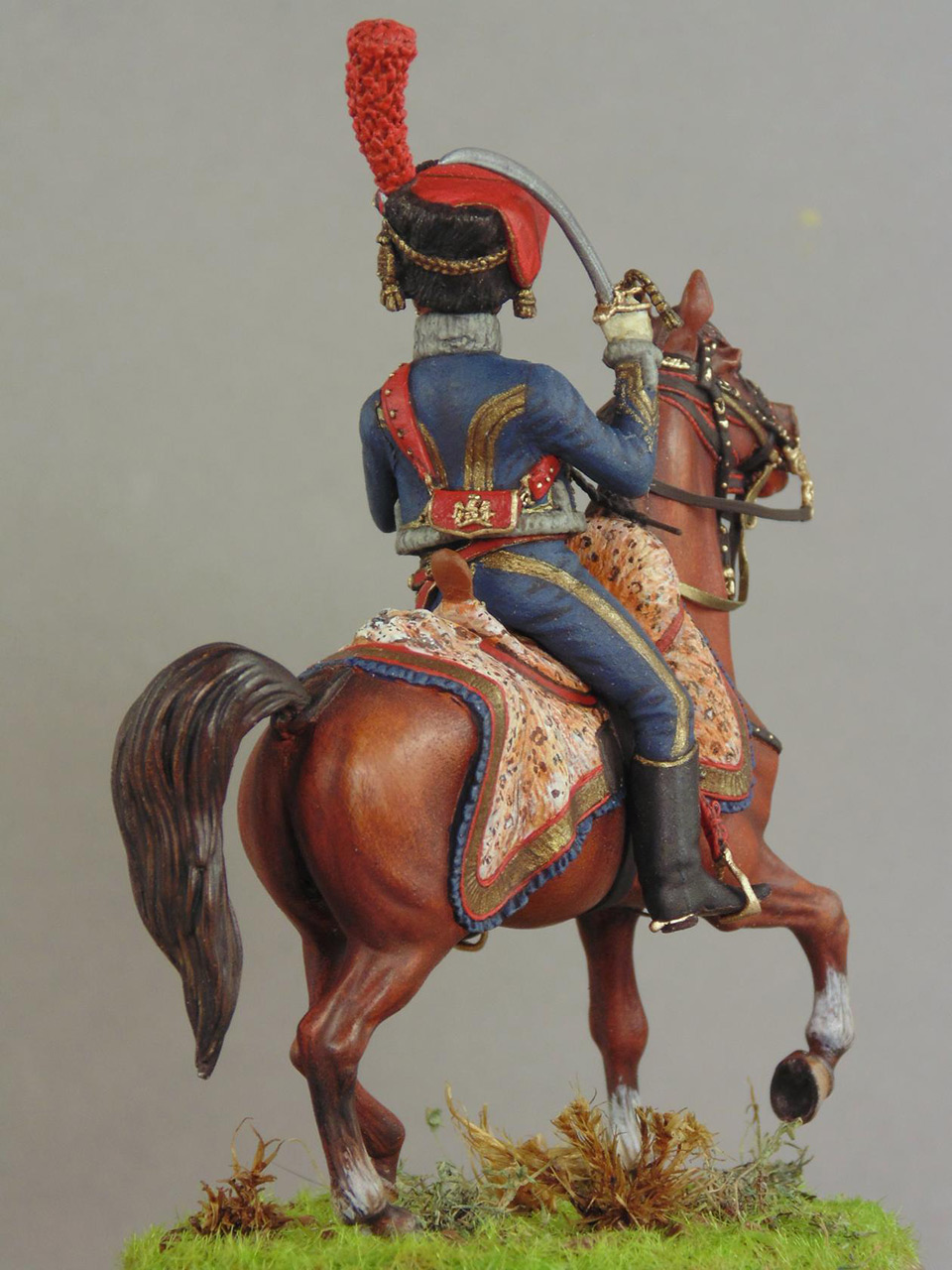 Figures: Officer, Guard horse artillery, photo #2