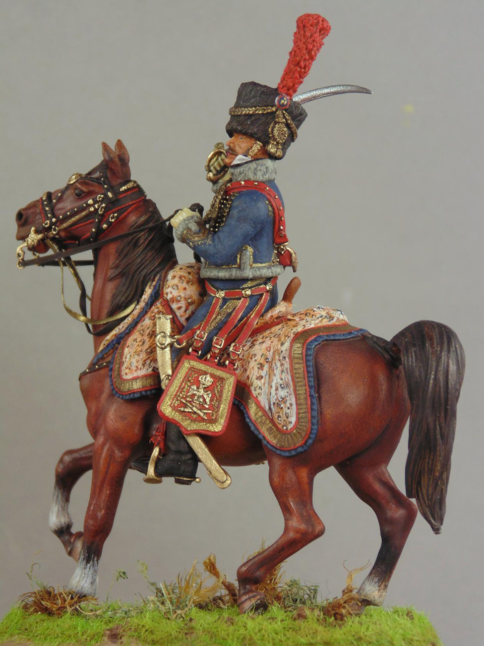 Figures: Officer, Guard horse artillery, photo #6