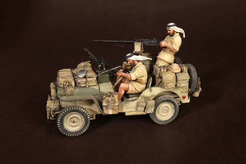 Figures: LRDG/SAS jeeps, photo #1