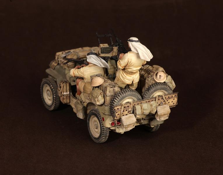 Figures: LRDG/SAS jeeps, photo #10