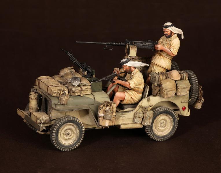 Figures: LRDG/SAS jeeps, photo #12