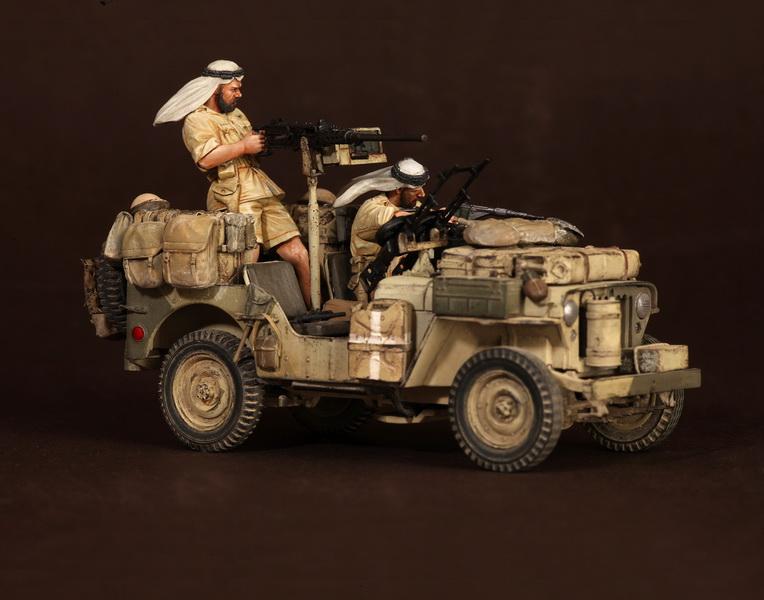 Figures: LRDG/SAS jeeps, photo #13
