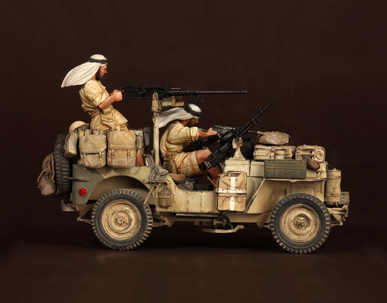 Figures: LRDG/SAS jeeps, photo #14