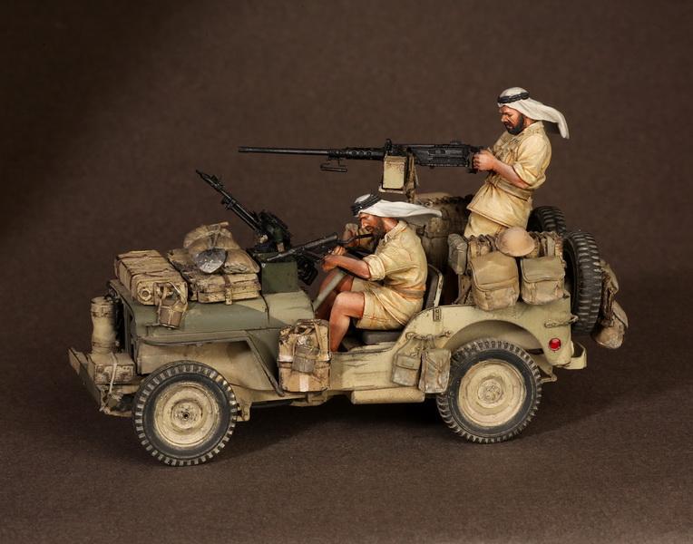 Figures: LRDG/SAS jeeps, photo #16