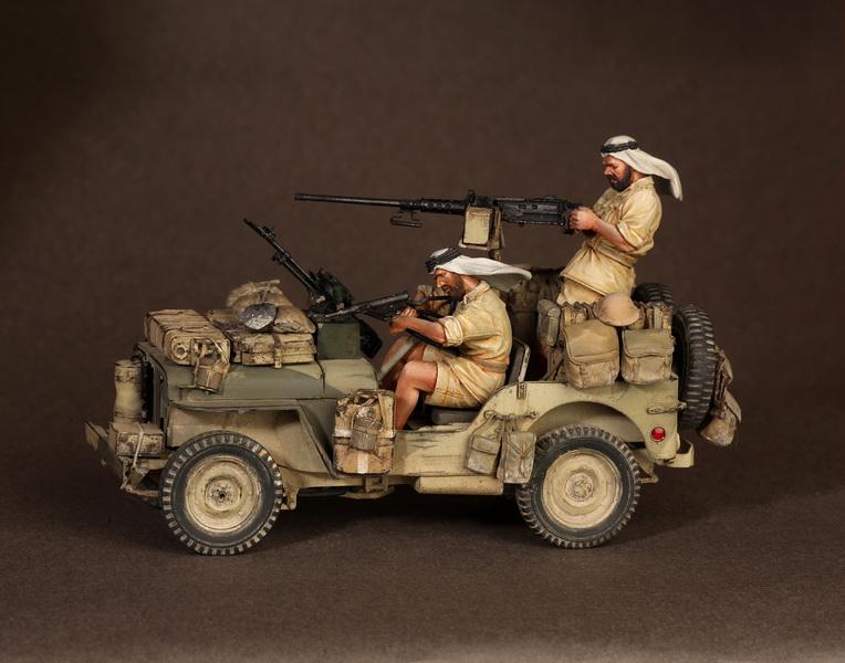 Figures: LRDG/SAS jeeps, photo #17