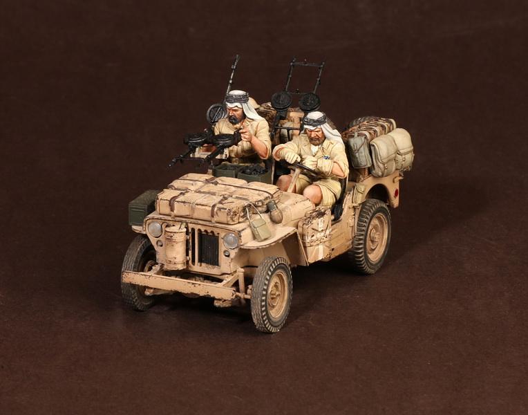 Figures: LRDG/SAS jeeps, photo #18