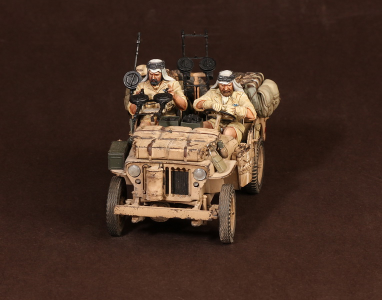 Figures: LRDG/SAS jeeps, photo #19