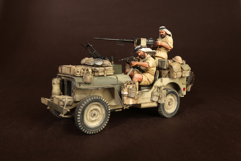 Figures: LRDG/SAS jeeps, photo #2