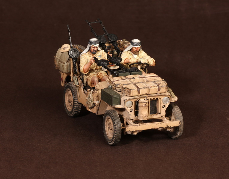 Figures: LRDG/SAS jeeps, photo #20