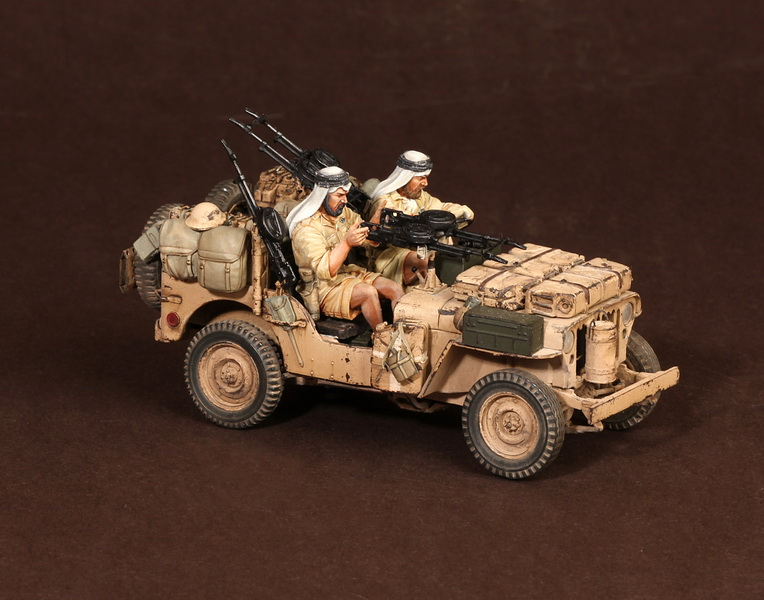 Figures: LRDG/SAS jeeps, photo #21