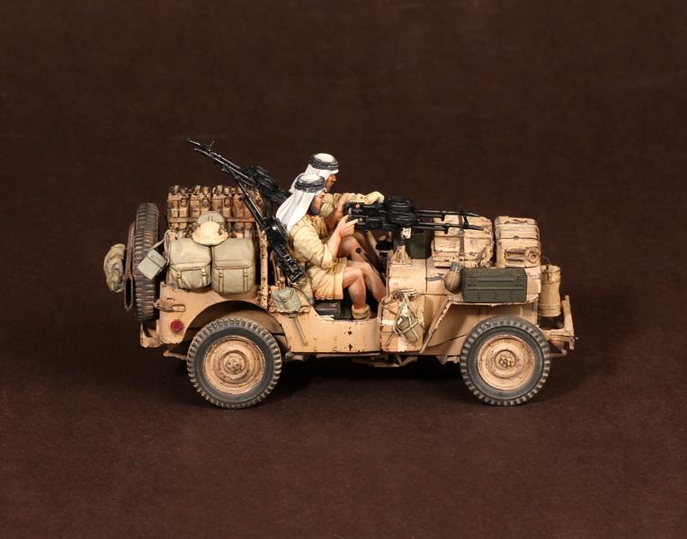 Figures: LRDG/SAS jeeps, photo #22