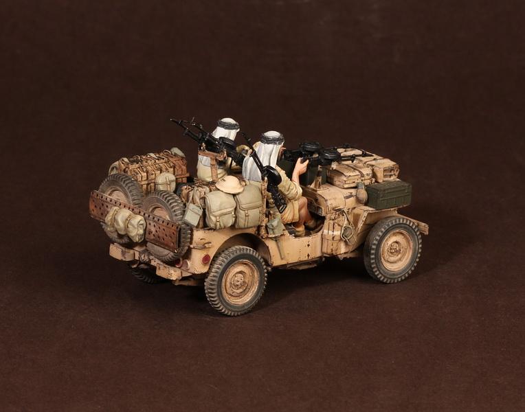 Figures: LRDG/SAS jeeps, photo #23