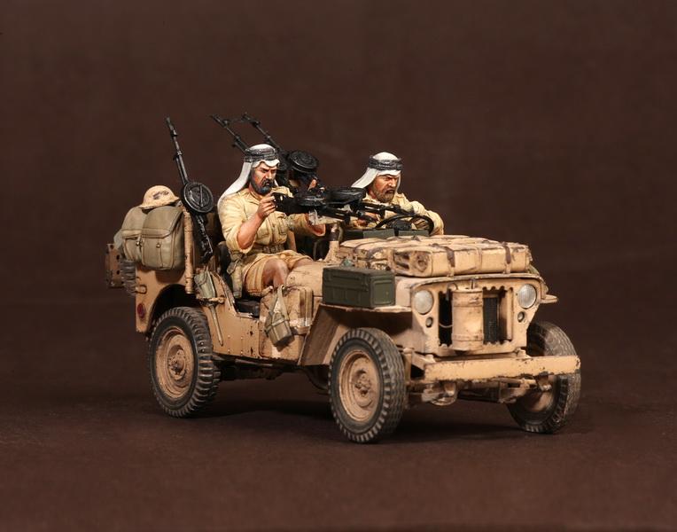 Figures: LRDG/SAS jeeps, photo #24