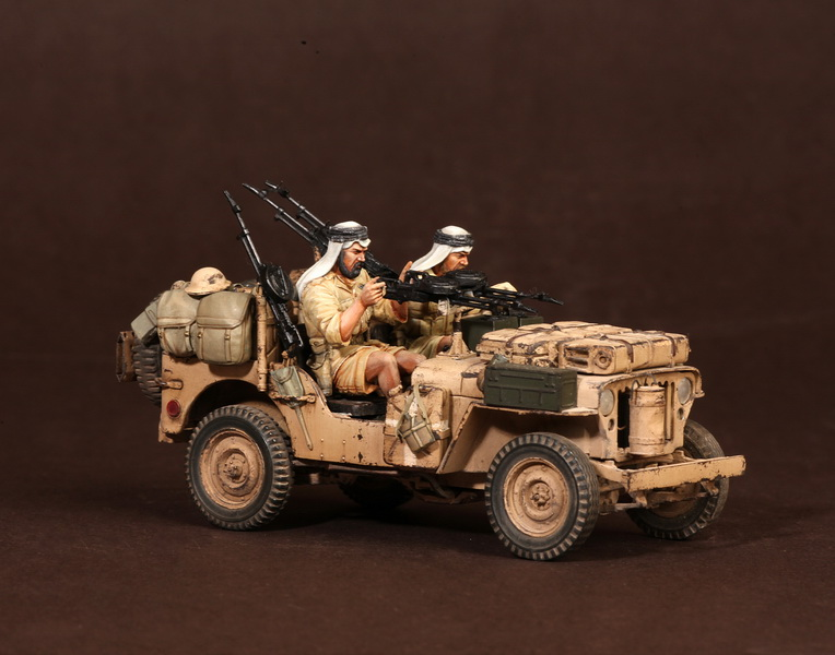 Figures: LRDG/SAS jeeps, photo #25