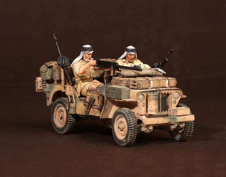 Figures: LRDG/SAS jeeps, photo #26
